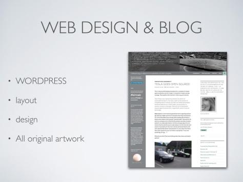 KimberlyBrekke portfolio web design and blog wordpress layout design all origianl artwork