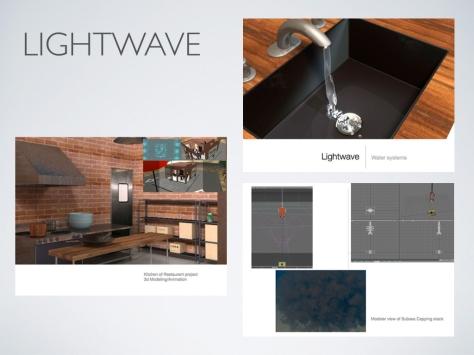 KimberlyBrekke portfolio Lightwave 3d animation project